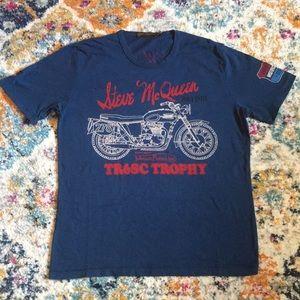 "Lucky Brand Johnson Motors ""Steve McQueen"" T-shirt"